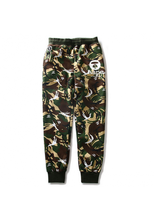 AAPE Classic Camo Sweatpants (Tan)