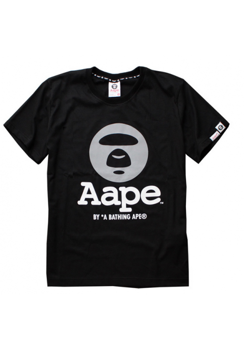 Aape Bape 3m Reflective Face T-Shirt (Black)