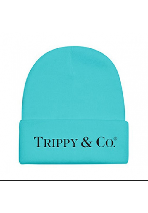 Brian Lichtenberg Trippy & Co Beanie Hat (Aqua/Blue)