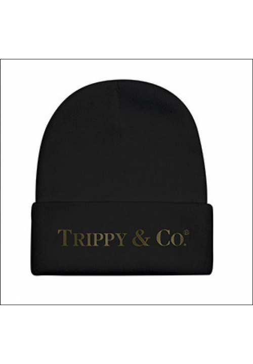 Brian Lichtenberg Trippy & Co Beanie Hat (Black)