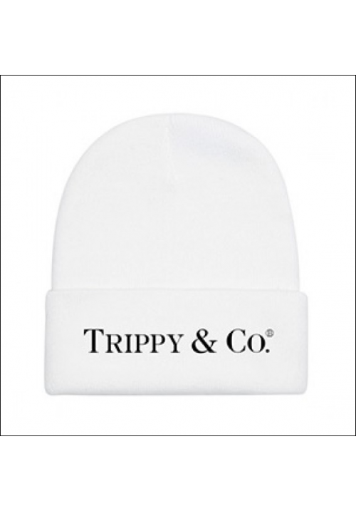 Brian Lichtenberg Trippy & Co Beanie Hat (White)