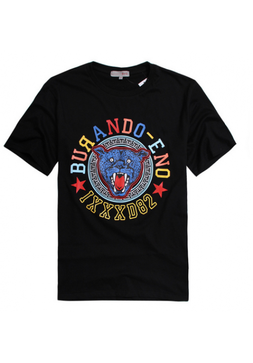 Burando MLGB Tiger Face Color T-Shirt (Black)