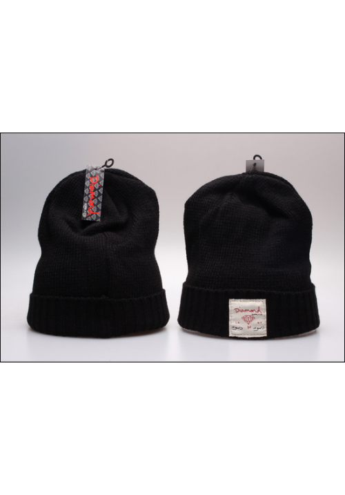 Diamond Supply CO Box Logo Beanie Hat (Black)