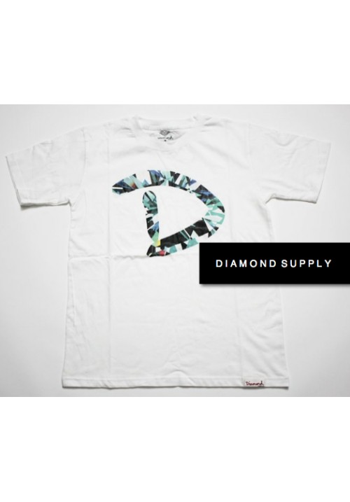 Diamond Supply Clarity D T-Shirt (White)