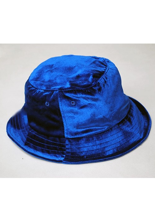 Flying Ninety Velour Fisherman Hats(blue)