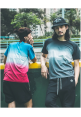 Forgiveness Gradient Ombre Style T-shirt (black)