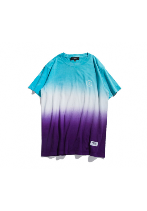 Forgiveness Gradient Ombre Style T-shirt (turquoise)