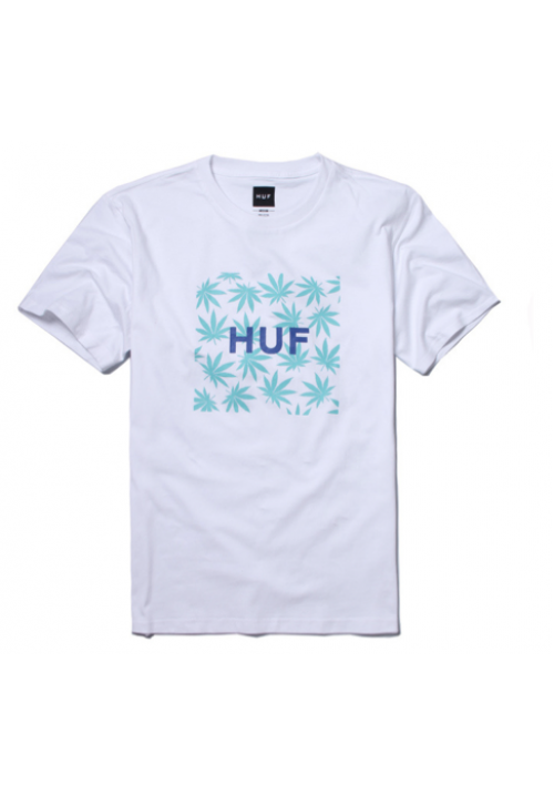 HUF Leaf Box T-Shirt (White)