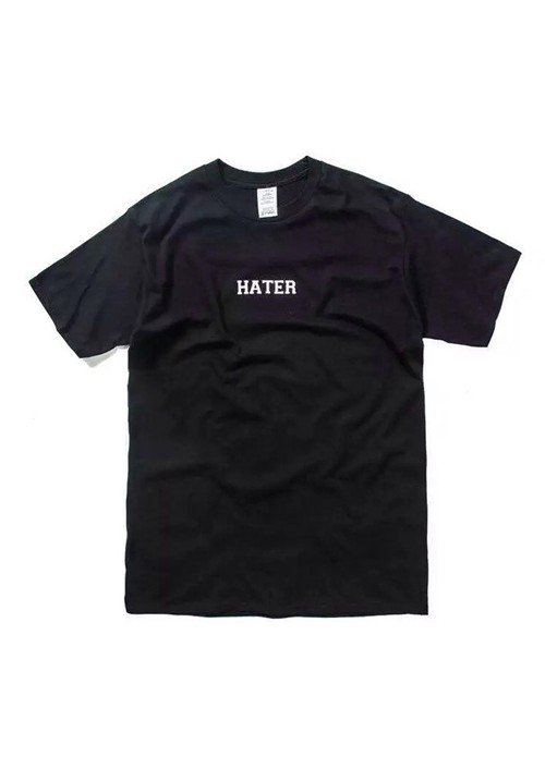 Hater Hate You Plain T-shirt (black)