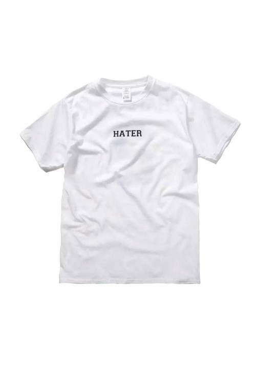 Hater Hate You Plain T-shirt (white)