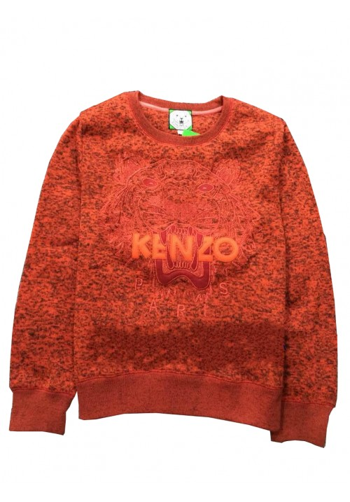 "Kenzo ""Knit Tiger Head Embroidery"" Sweater (Red)"