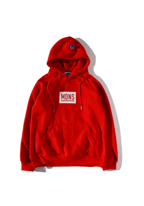 Madness Breeds MDNS Classic Box Hoodie (Red)