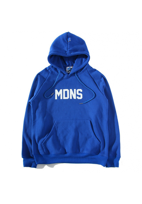 Madness Breeds MDNS Classic Box Hoodie (Blue)