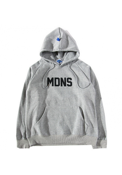 Madness Breeds MDNS Classic Box Hoodie (Gray)