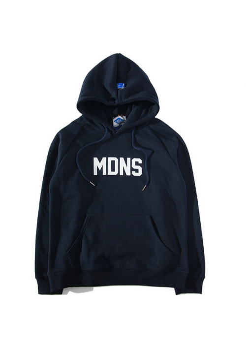 Madness Breeds MDNS Classic Box Hoodie (Navy)
