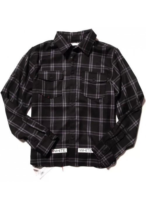 "Off-White ""Checkered"" Long Sleeves (Black)"