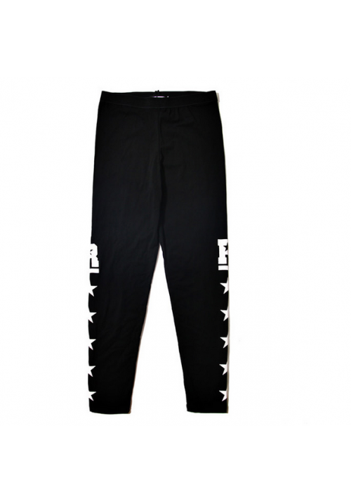 Remedy Hi-Street Side Stars Legging Pants (Black)