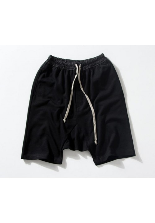 "Rick Owens ""Cross Pants Solid"" Shorts (Black)"