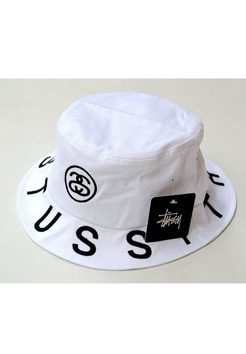 c8f7030187c Stussy Tribes Fisherman Hat (white)