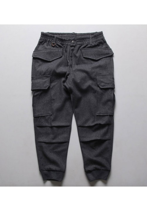"Tide ""Japanese Double Pocket"" Pants (Gray)"